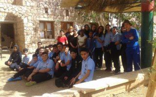 زيارة الصف التاسع ج الى قرى الاطفال SOS
